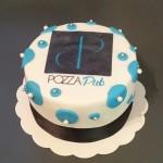 Gâteau avec le logo de votre entreprise