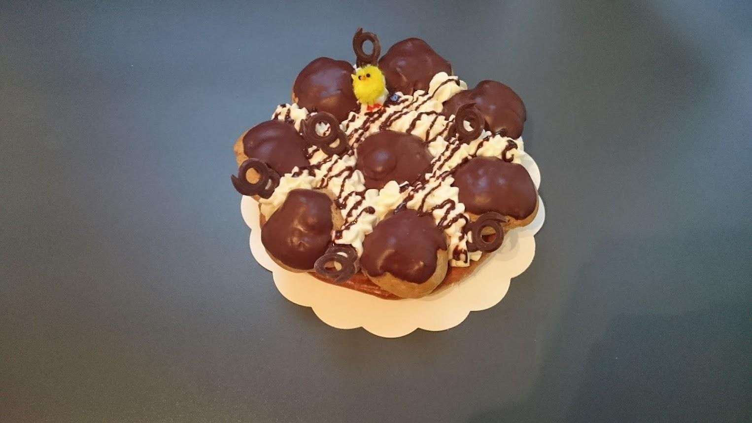 St Honoré au chocolat