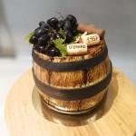Gâteau Tonneau de vin